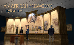 An African Menagerie by Brian Jarvi